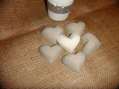 modern concrete small hearts package of 10 for lots by APhomemade, Small Heart, Concrete, Hearts, Packaging, Trending Outfits, Unique Jewelry, Handmade Gifts, Modern, Etsy