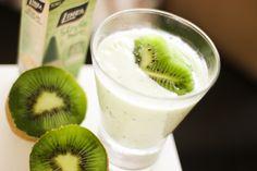 Receita de Frozen Yogurt de Kiwi