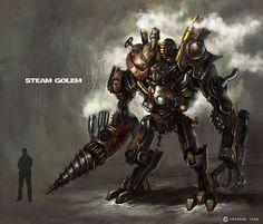 Steam golem