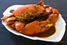 Sri Lankan Curry Crab @ Aliyaa Restaurant & Bar