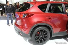 Proposed CX-5 Mazda low-down & wheel black paint