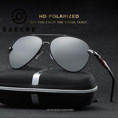 8e74c907182 FuzWeb Clear Sunglasses Aviator Male Femal UV 400 Sunglasses Polarized Hot  Men s Polarized Sunglasses