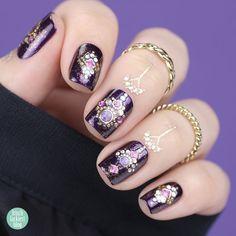 {FrischlackiertChallenge} Arabian Nights Crazy Nail Art, Crazy Nails, Arabian Nights, Blog, Beauty, Polka Dots, Beleza, Blogging, Cosmetology