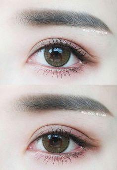 Natural make up #make up #idea
