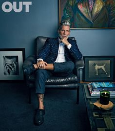 Street Style Icon Nick Wooster: After 30 Years in the Fashion Industry, He's Never Been More Popular Nick Wooster, Divas, Suits And Sneakers, Most Stylish Men, Stylish Man, Smart Men, Gentleman Style, Men Looks, Dapper