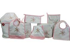 Libelula rosa #maruzubiriadf #babygirl #baby #pink #babystuff #bag #laundry #bib #customizeyourlife #mynameonit