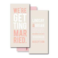 Peach Wedding Invitations, Blush Wedding Invitation, Pink Wedding Invitations