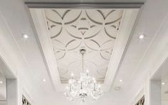 Ceiling Trim Master tray ceiling - Decorative Tray - Ideas of Decorative Tray - Ceiling Trim Master tray ceiling Ceiling Trim, Ceiling Detail, Home Ceiling, Ceiling Panels, Ceiling Decor, Modern Ceiling, Ceiling Beadboard, Porch Ceiling, Kitchen Ceiling Lights