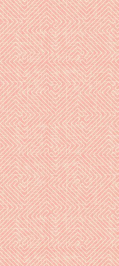 Repeating, seamless pattern with geometric labyrinth. Print with white lines on a pink peach background. Cloth and fabric texture. Surface pattern textile design. Vector ideas inspirations, printable buy $5 #surfacepatterndesign #surfacepattern #pattern #print #printdesign #printpattern #seamlesspattern #textile #fabric #surfacedesign #textiledesign #patterndesign #printandpattern #patterns #textiles #textileart #printing #prints #artlicensing #artprint