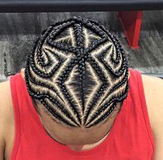 Thats dope # individual Braids for boys Cornrow Hairstyles For Men, Kids Braided Hairstyles, Braid Styles For Men, Braids For Boys, Curly Hair Styles, Natural Hair Styles, Individual Braids, Braid Designs, Box Braids Styling