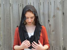 Infinity Veils Chapel Veils Mantillas by LiturgicalTime on Etsy
