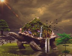 "Check out new work on my @Behance portfolio: ""Oase of turtle"" http://be.net/gallery/51645237/Oase-of-turtle"