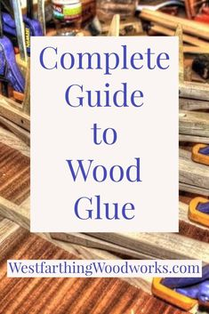 The only wood glue guide that you will ever need. This is your guide to using wood glue, and several tricks that will make you a wood glue expert in a very short time. This is a long and information packed post. Wood Turning Lathe, Wood Turning Projects, Wood Lathe, Wood Projects, Furniture Projects, Learn Woodworking, Popular Woodworking, Woodworking Projects Plans, Woodworking Bench