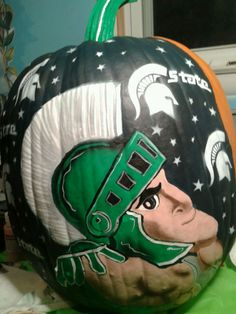 Sparty! Pumpkin Carving and Decorations