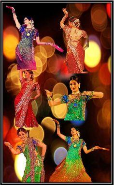 "Aishwarya performing her popular Bollywood Dance track ""Dola Re Dola"" at Filmafare Awards & Zee Cine Awards {2003}"