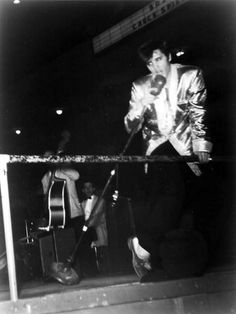 March 31, 1957 Elvis performed at the Olympia Stadium, Detroit, Michigan, at 2:00 and 8:00 p.m.