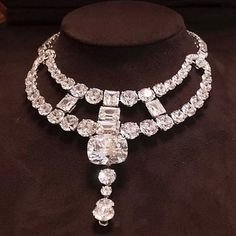 Delicious diamond necklace