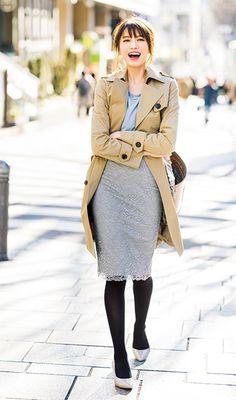 宮田聡子 andGIRL Long Skirt Fashion, Ol Fashion, Japan Fashion, Fashion Pants, Korean Fashion, Womens Fashion, Street Fashion, Short Girl Fashion Curvy, Uniqlo Style