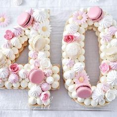 Number cake or the new insanity in the net – Party – … - Birthday Cake Blue Ideen 40th Birthday Cake For Women, Grandma Birthday Cakes, Number Birthday Cakes, 70th Birthday Cake, 40th Cake, Number Cakes, Birthday Woman, Alphabet Cake, Cake Lettering