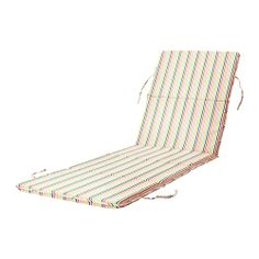 RISÖ Chaise pad IKEA Filled with polyester wadding for great comfort.