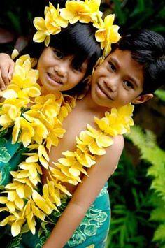 Beautiful children from Samoa