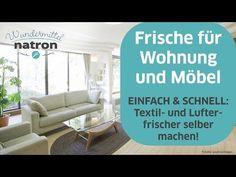 Textilerfrischer mit Natron selber machen - YouTube