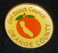 Girl Scout Council Orange County Pin