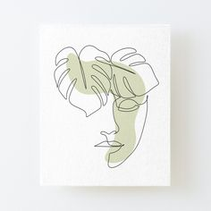 Face Line Drawing, Leaf Drawing, Plant Drawing, Mandala Drawing, Drawing Art, Abstract Face Art, Abstract Drawings, Abstract Lines, Art Drawings