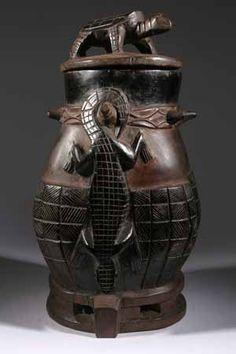 La boite à souris, une rencontre parfaite entre l'art africain et le cérémoniel en Afrique