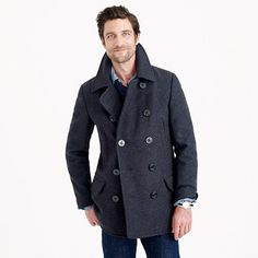 J.Crew - Dock Peacoat with Thinsulate