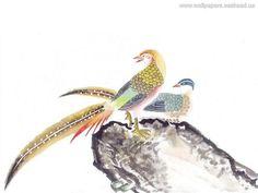 Telefoon Achtergronden - Chinees schilderij, #3514