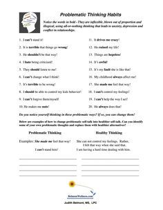 printable worksheets counseling worksheets pinterest worksheets and printable worksheets. Black Bedroom Furniture Sets. Home Design Ideas