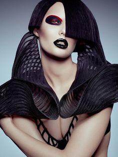 GOTH Dark Glamour ✤ :: Gothic Glam FGR Exclusive / Model Gintare at Wilhelmina Models / Photographer Danny Cardozo / Stylist Danny Santiago / Hair & Makeup Mark Williamson