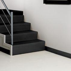 Best Stair Tread Risers Rubber 72 X 7 Black H 5199Bl In 400 x 300