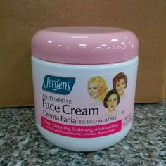 Jergens All Purpose Face Cream - Diy Face Mask, Face Masks, Uneven Skin, Vaseline, Beauty Makeup, Purpose, Moisturizer, Facial, Skin Care