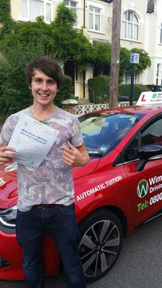 Well done to Jan Bogdonawic from #Streatham who passed his test in Mitcham.