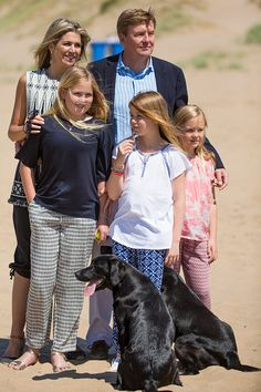 Royal Family Around the World: Dutch Royal Family Summer Photocall on July 10, 2015 in Wassenaar, Netherlands.