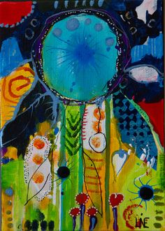 Dreams in December    13x18 cm** Sold ** Mix Media on Hardboard Contact me on linebank@me.com feel like seeing more  please go to www.facebook.com/banksabstractions