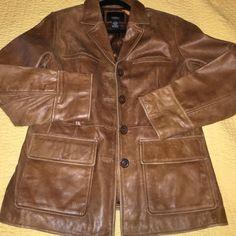 Great leather jacket/HC Great condition Vassino Jackets & Coats
