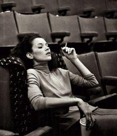 Kate Moss by Bruce Weber Vogue Italia oct 1996
