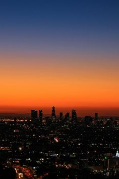 City of Angels at Dawn No place like home. Night Aesthetic, City Aesthetic, Sunset Wallpaper, City Wallpaper, Pretty Sky, Beautiful Sky, Beautiful Pictures, Los Angeles Wallpaper, City Of Angels