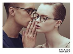 helene desmettrem, anmari botha and niclas gillis by an le for badgley mischka eyewear fall / winter 2015 | visual optimism; fashion editorials, shows, campaigns & more!