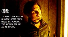 Love Vex on Lost Girl, he's hilairious!!! And completely unhinged!!!