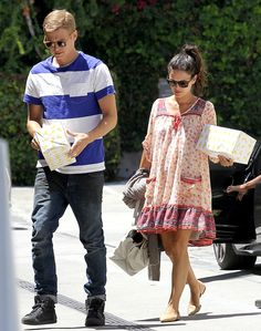 Rachel Bilson Channels the '70s in Patterned Peasant Dress: See the Pregnant Star