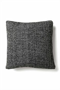Knitted Two Tone Rib Cushion Knitted Cushions, Household Items, Bedroom Decor, Christmas, Home, Living Spaces, Decorating Ideas, Platform, Grey