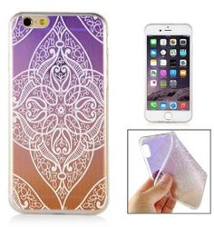 Slicoo iPhone 6   6S kryt Elegant Purple Diamond Flower fb9f21979a1