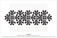 motiv traditional creanga bradului - Căutare Google Simple Cross Stitch, Cross Stitch Borders, Cross Stitch Patterns, Folk Embroidery, Cross Stitch Embroidery, Embroidery Designs, Knit Stranded, Beading Patterns, Pattern Design
