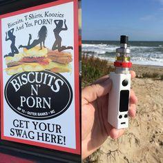 "Tony Brittan on Instagram: ""Grabbed some breakfast and headed to the beach! Ahhhh #beachlife  #vapefoodies #vapeporn #obxvape #obx #beachvape #vape #vaportrailchannel #vapehooligans #biscuitsandporn #aromamizer #evicvtcmini #evic #vapelife #vapefam #vapepics #nagsheadnc #vapehooligans #vapegirls"""