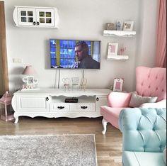 Harika Salon Dekorasyonu, Salon Takımları, Modeller ve Fikirler Diy Bathroom Decor, Diy Home Decor, Living Room Sets, Living Room Decor, Casa Retro, Floor Planner, Home Design Software, Decoration, Furniture