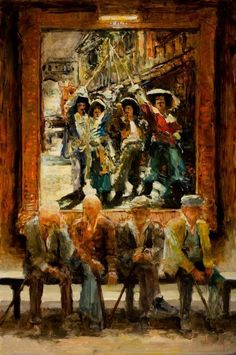 One For All And All For Lunch by Stephen Shortridge